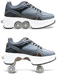 HDCM Roller Skates, Lauflernschuhe,Sneakers,2 in 1 Mehrzweckschuhe