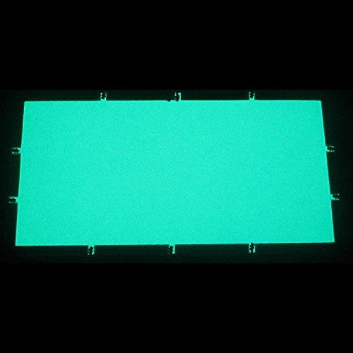 Preisvergleich Produktbild EL-Folie / Leuchtfolie / Plasmafolie Farbe: GRÜN Größe: 200x100mm inkl. Zubehör