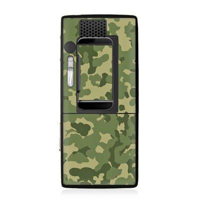 Preisvergleich Produktbild Sony Ericsson K800i Case Skin Sticker aus Vinyl-Folie Aufkleber Muster Grün Camouflage