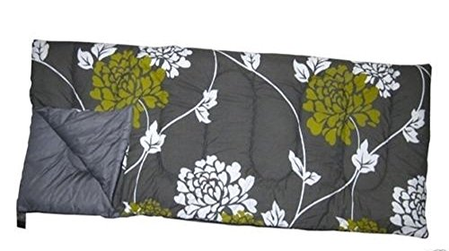 Preisvergleich Produktbild Royal Novara Super Kingsize Sleeping Bag 60oz High Quality - Floral Olive/Black