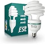 eSmart Germany Foto Schnellstart-Energiesparlampe | 40 W (175 W) | E27 | Tageslichtweiß (5500 K) | Durchmesser: 108 mm | Höhe: 194 mm
