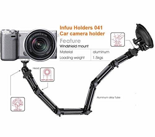Infuu Holders 041 KFZ Kamera Halterung Camcorder Saugnapf Saugstativ Fotostativ