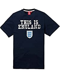 Official England Football Kids 'This is England' Tee - Navy