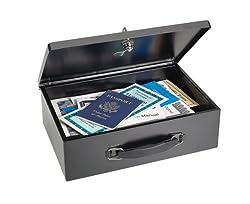 Block and Company E2216140BP04 Feuerfeste Dokumentenkassette mit zweifach isolierten Wänden