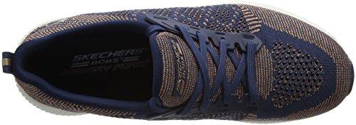 Skechers Bobs Squad-Hot Spark, Sneaker Infilare Donna Blu (Navy)