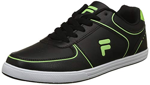 Fila Men's Blade Blk/LIM Pnch Sneakers-10 UK/India (44 EU) (11006521)