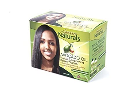 Avocado Oil No-Lye Afro Hair Relaxer (1