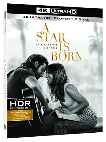 A Star is Born [4K Ultra HD + Blu-Ray]