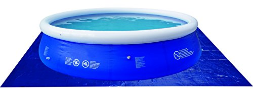 JILONG 6926799207076 - Piscina Plano de Masa gc para Piscinas Redondas, 330 x 330 cm, Azul