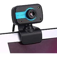 كاميرا الويب TKOOFN عالية الدقة 480P مع ميكروفون مدمج وكمبيوتر محمول وكمبيوتر محمول وكمبيوتر وكمبيوتر وكاميرا فيديو الويب والاتصال عبر الإنترنت ومكالمات الفيديو والبث المباشر