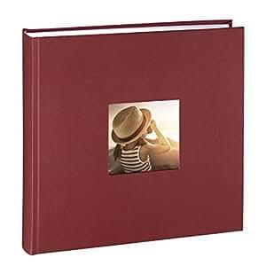 Hama Buch-Album, Pappe, Bordeaux Fotoalbum