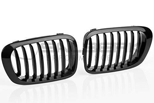 Negro brillante riñones 3er bmw e46 cabrio vfl Front parrilla salberk 4603