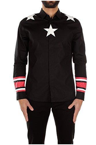 Camicie Givenchy Uomo Cotone Nero, Bianco e Rosso 15F6008300001 Nero 42