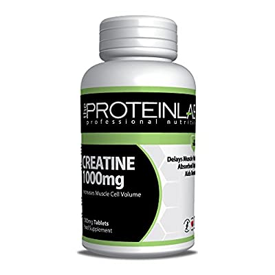 Creatine Monohydrate 1000mg Tablets UK Manufactured 30-500 Pack Size