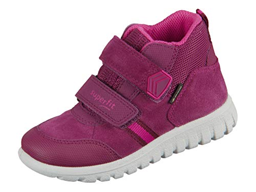 Superfit Baby-Girls Sport7 Mini Gore-Tex-50919950 Sneaker, (Rot/Rosa 50), 24 EU