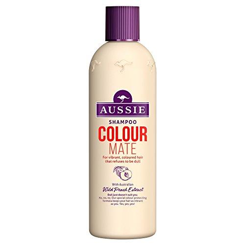 Aussie Colour Mate Shampoo for Vibrant, Coloured Hair, 300 ml