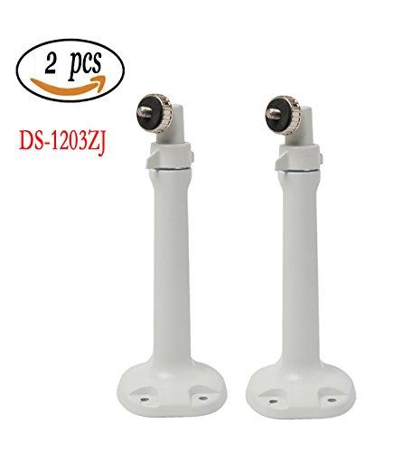 2PCS ds-1203zj BS Pan Tilt CCTV Kamera Halterung, Aluminium Box Bullet Zoom Wandhalterung £ ¬ bestga Sicherheit Ständer Zubehör für hikvsion HD IP Kamera und andere etc.. (1u-wandhalterung)