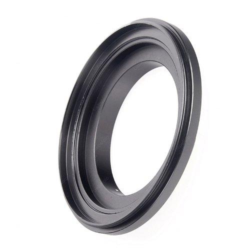 Makro Umkehrring Retroadapter Reverse Ring (mit getrennt benutzbarem Filteradapter) 67mm für Nikon z.B. D3x D3s D700 D300s D7000 D5000 D3100 D3000 D90 D80 D60x D40x usw. (Ring Reverse)