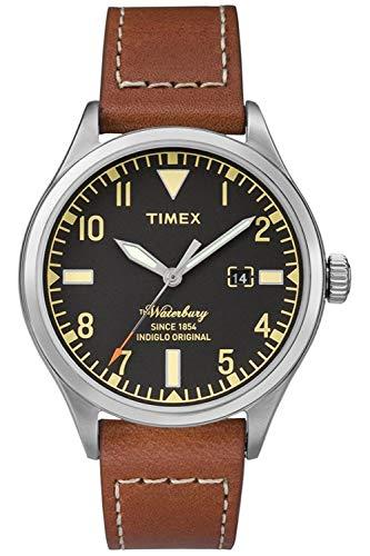 Timex TW2P84000 - Orologio da polso Uomo, Pelle, colore: Nero