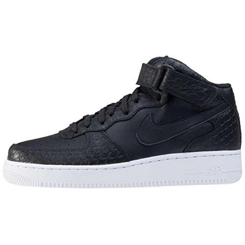 Nike Air Force 1 Mid '07 Lv8 Herren Basketballschuhe Schwarz / Schwarz-Weiß