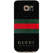 Custom Personlized Luxury Gucci Logo Samsung Galaxy S6 Edge_3D Plastic 3D Durable Case Cover GT9E27
