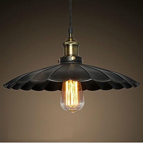 ZSQ American Village ombrello di tipo retrò lampadario in ferro Le luci pendenti lampadario universale Chanderlier luce apparecchio di illuminazione #302