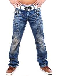 Cipo & Baxx Herren Jeanshose Jeans Hose Zipper C-894