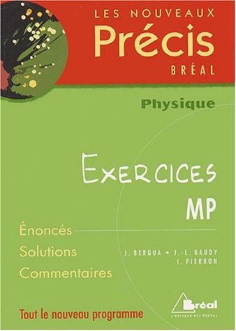 Physique MP : Exercices