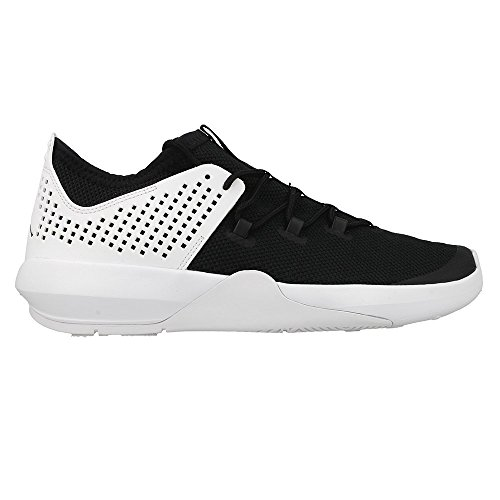 Nike Jordan Express, Scarpe da Ginnastica Uomo Bianco-Nero