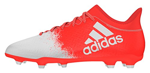 adidas X 16.3 Fg W, Entraînement de football femme Orange (Solar Red/Ftwr White/Solar Red)