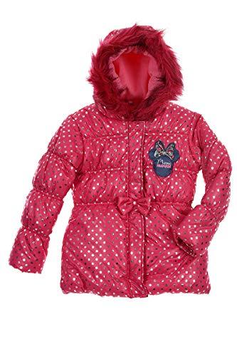Disney minnie rh1023 giacca piumino, poliestere, bambina (6 anni, fucsia)