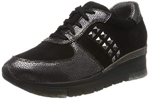 Tamaris Damen 1-1-23720-33 Sneaker, Schwarz (Black/Pewter 94), 38 EU