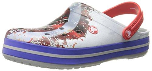 Crocs Crocband Avengers Mule Light Grey