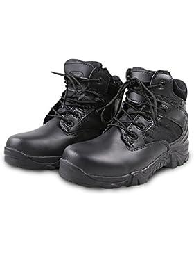 QIMAOO Unisex Wanderschuhe Herren Damen Outdoor Schuhe mit Weichkeil und Vibramsohle für Sport Trekking Bergsteigen...