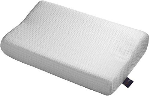 Visco Elastischen Air Memory Foam Orthopädische Luft Kissen, 100 % Baumwolle Innenbezug,  Doppel Jersey Bezug, 60 X 40 X 12 / 10 cm -