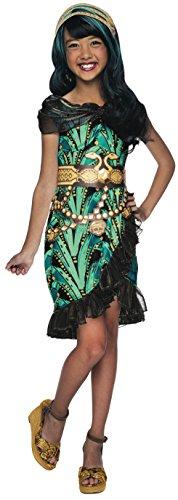 High Kostüm Cleo Monster (Kostüm Cleo de Nile Monster High Mädchen)