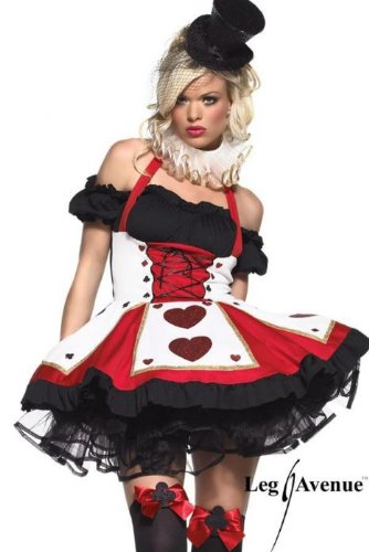 Queen Adult Costume Halloween size of Dark Heart Queen Adult Costume Dark (Kostüme Böse Herzkönigin)