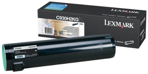 Preisvergleich Produktbild Lexmark Toner schwarz C935 38.000 Seiten