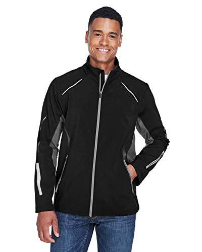 Men's Pursuit Three-Layer Light Bonded Hybrid Soft Shell Jacket with Laser Hybrid Soft Shell Jacket