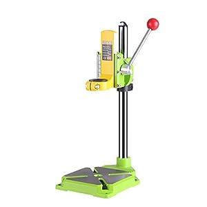 KKmoon Herramienta eléctrica de alta precisión Broca de taladro Prensa de taladro Soporte de mesa Estación de trabajo Broca Banco de trabajo Reparación de herramientas