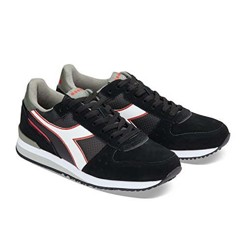 Diadora Herren Malone S Sneakers 80012 - BLACK TRANSPARENT
