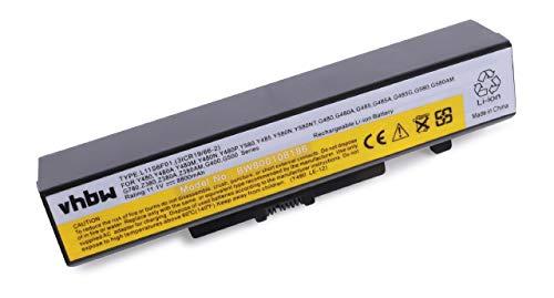 vhbw Li-ION Batterie 8800mAh (10.8V) pour Notebook Lenovo G500 Serie, G580, G580AM, G585, G780, IY485 comme L11S6F01(3ICR19/66-2).