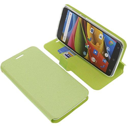 foto-kontor Tasche für Archos 55b Cobalt Lite Book Style grün Schutz Hülle Buch