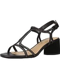 Sandalias y Chanclas para Mujer, Color Negro, Marca ALMA EN PENA, Modelo Sandalias