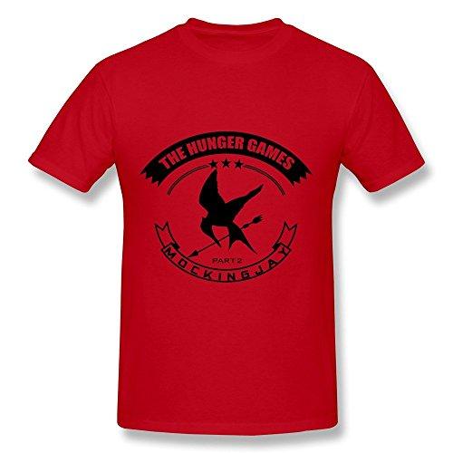 Dzzlee Clothes  Herren T-Shirt Gr. L, Schwarz - Rot - Casa Kcups