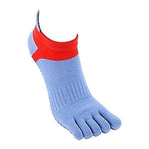 Maybesky Yoga Socken Fünf-Finger-Baumwolle Japanische und Koreanische Sport Kurze Socken geeignet für Frauen Pilates, Anti-Rutsch-Slip-Socken