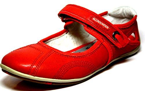 Allrounder by Mephisto, Mocassini donna Rosso rosso, Rosso (rosso), 37 EU / 4.5 UK