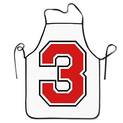 ZXMZhao 3 F2 Cooles, lustiges tolles Geschenk für Küche, Grill, Koch, Kochschürze, Kochschürze, professionelles Erwachsene, Lätzchen Geschenk (Geburtstag Jersey Baseball)