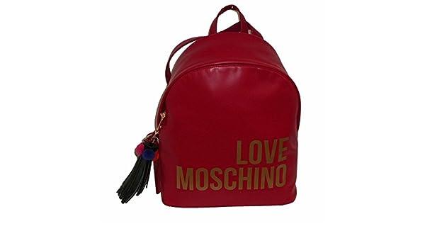 LOVE MOSCHINO JC4312PP05 ZAINETTO Donna ROSSO: Amazon.it