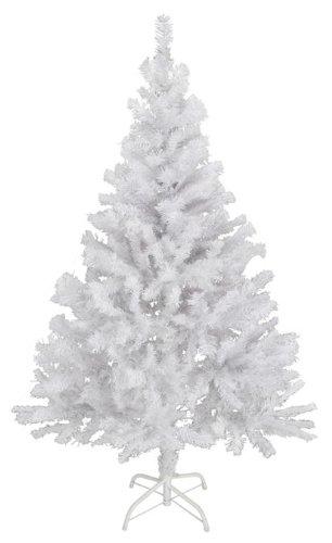 Künstlicher Weihnachtsbaum 150cm in weiß - mit Metallständer